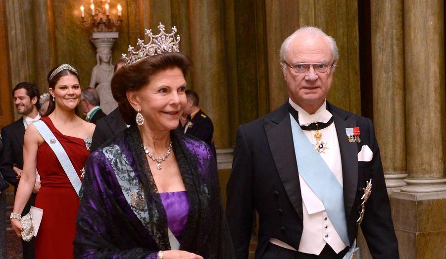 Carl Gustav et Silvia