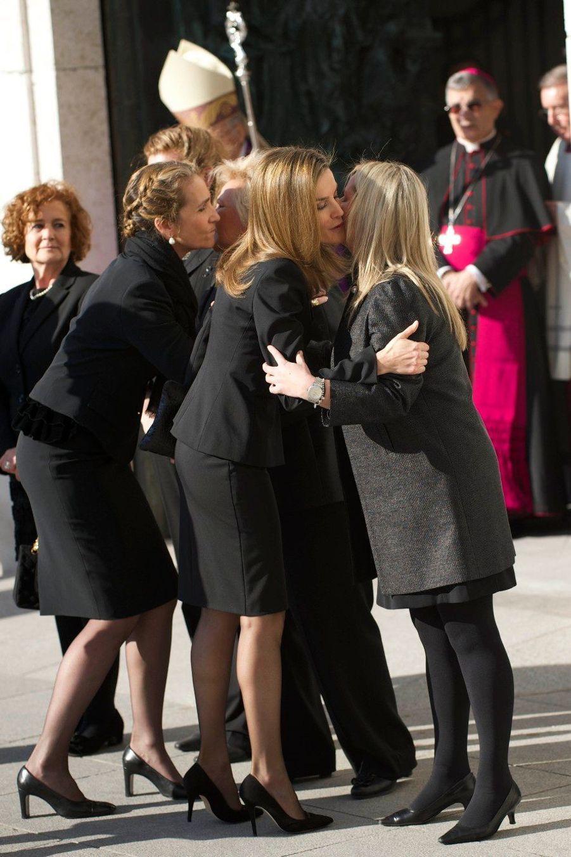 La famille royale d'Espagne se souvient