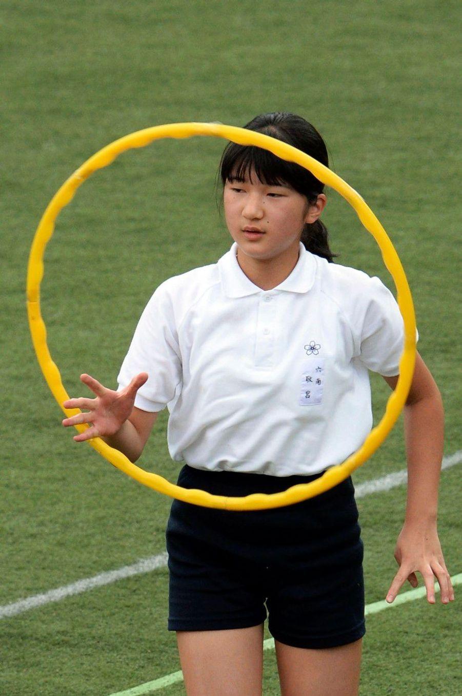 Aiko, princesse gymnaste
