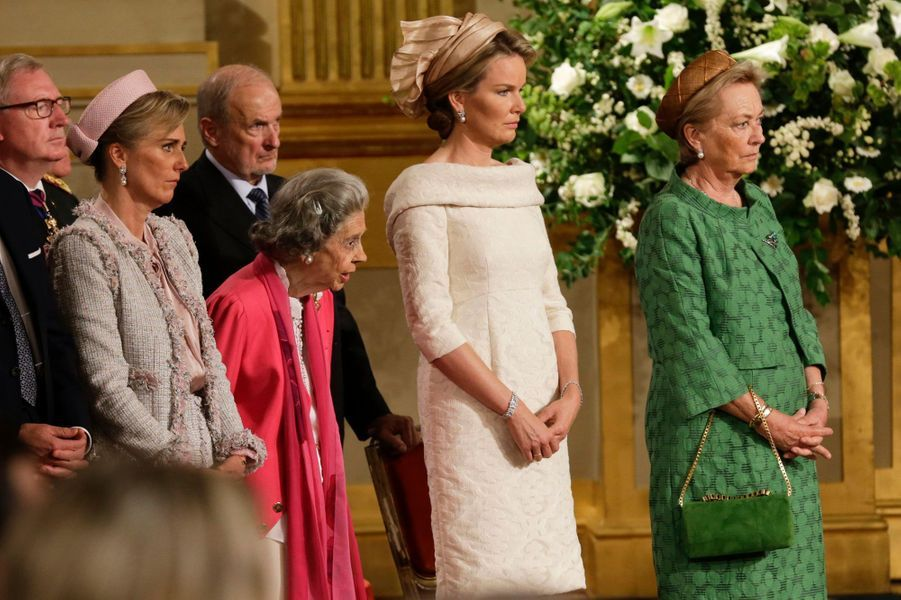 La princesse Mathilde et la reine Paola