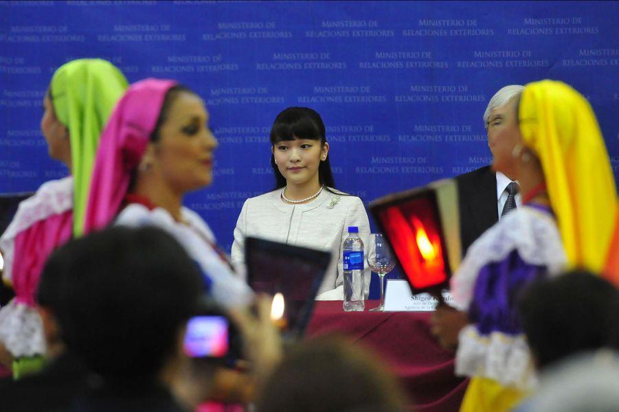 La princesse Mako en visite au Salvador