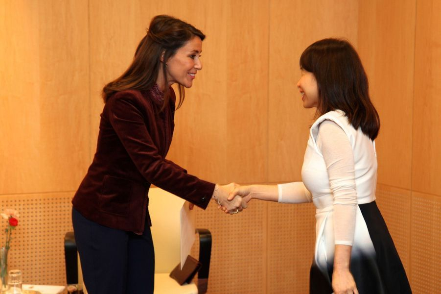 4 La Princesse Marie De Danemark Remet Le 'Prix Littéraire Des Ambassadeurs' À Copenhague