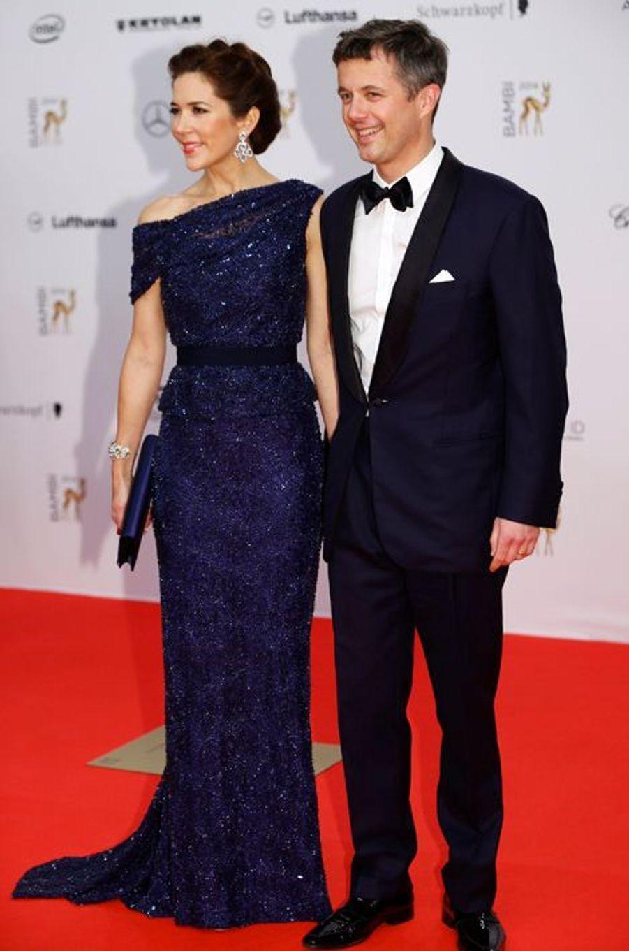 La princesse Mary et le prince Frederik de Danemark à Berlin, le 13 novembre 2014
