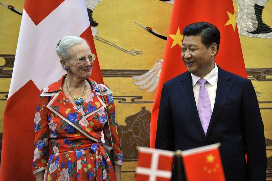 La reine Margrethe et Henrik visitent la Chine