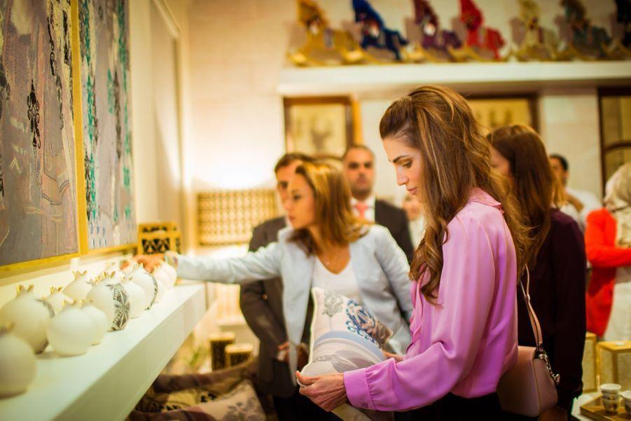 Rania, reine de l'artisanat