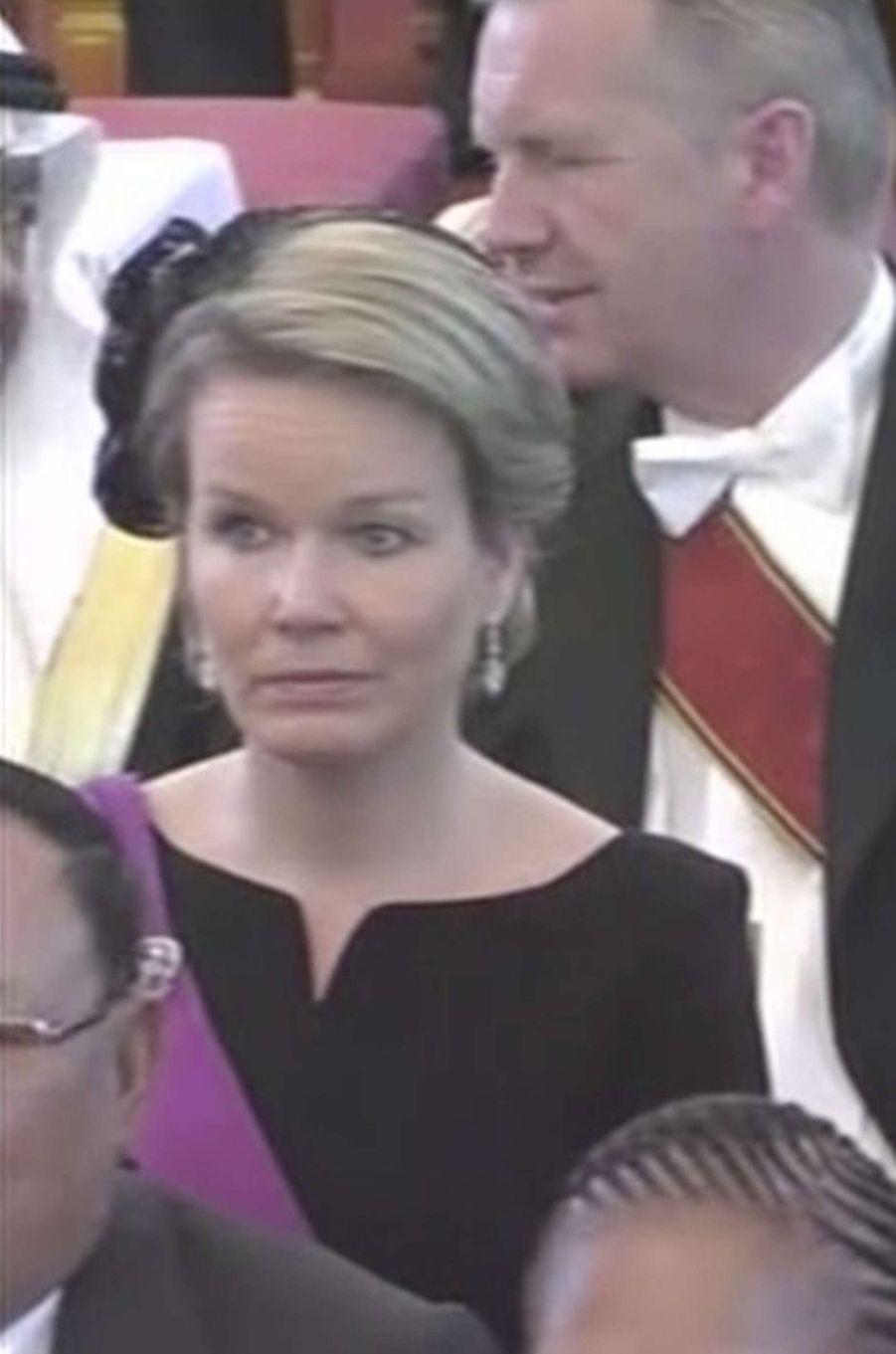 La reine des Belges Mathilde à Bangkok, le 26 octobre 2017