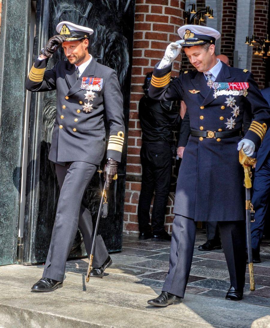 Le famille royale danoise reçoit ses voisins norvégiens