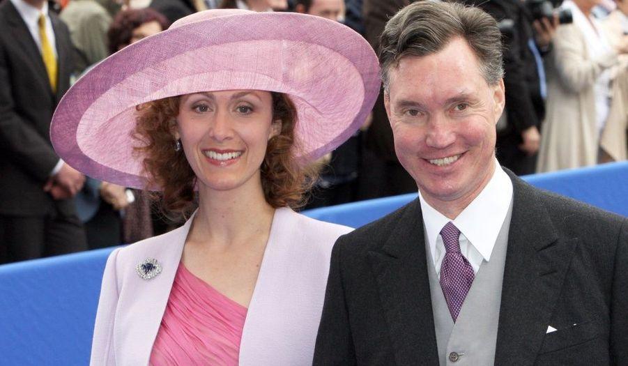 Prince Guillaume de Luxembourg et son épouse la princesse Sybilla.