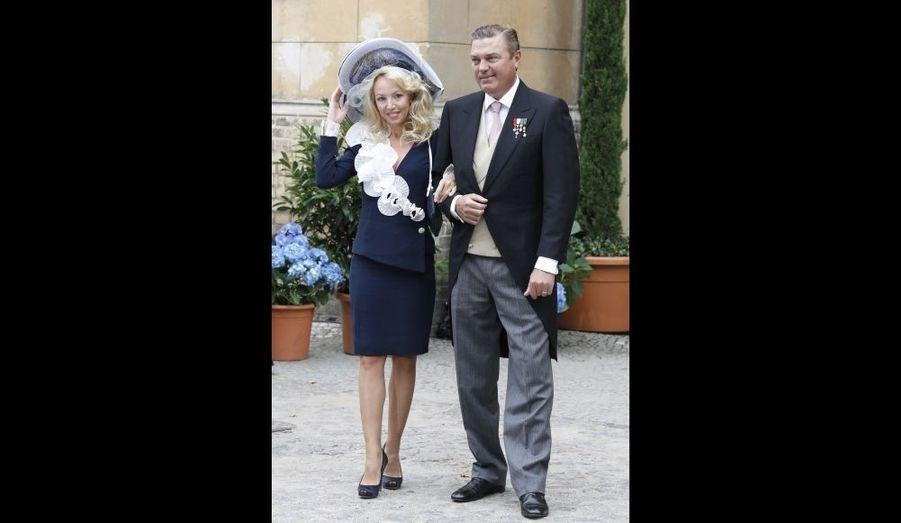 Le prince Charles de Bourbon-Siciles et la princesse Camilla Crociani