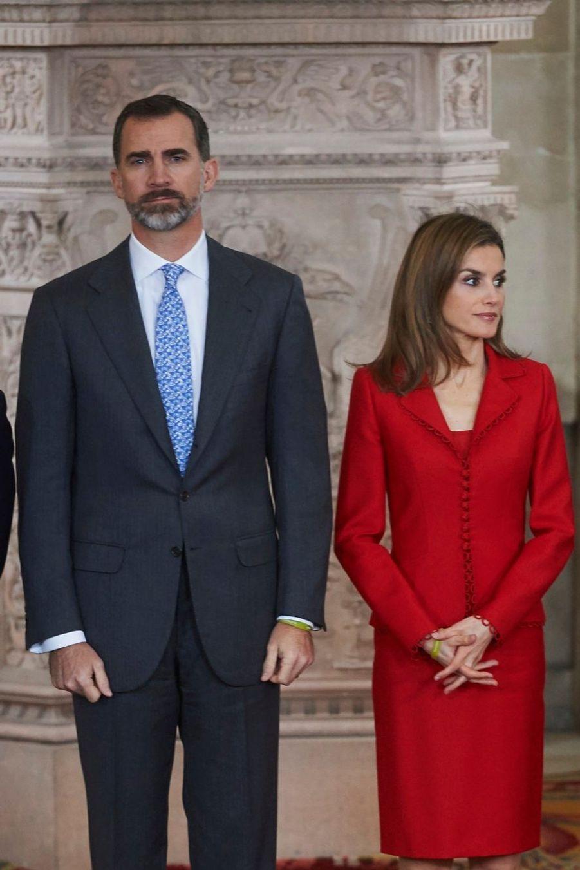 1 Letizia Et Le Roi Felipe À La Remise Des Prix Nationaux De La Recherche