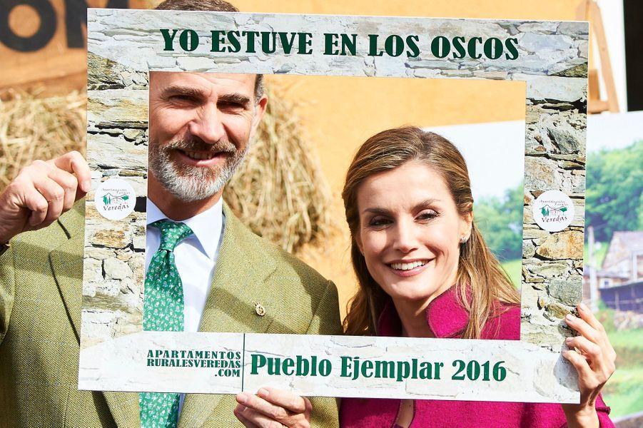 Le dernier acte du prix Princesse des Asturies 2016 s'est joué samedi 22 octobre pour la reine Letizia et le roi Felipe VI d'Espagne dans la région de Los Oscos.