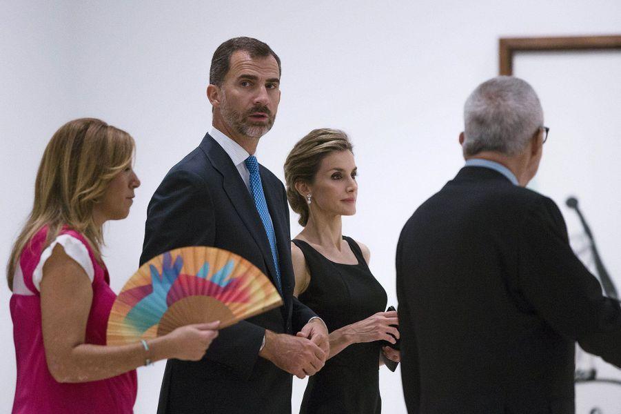 Letizia et Felipe, passion Picasso
