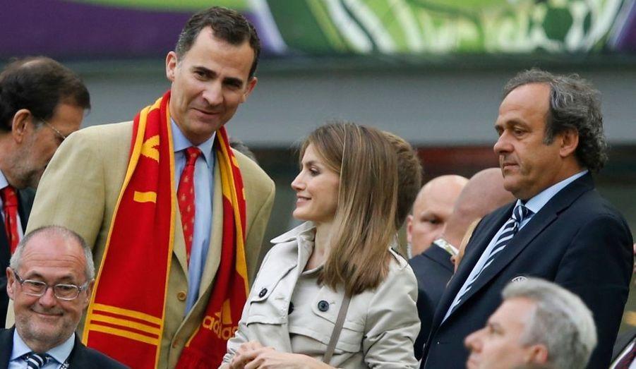 Avec Michel Platini