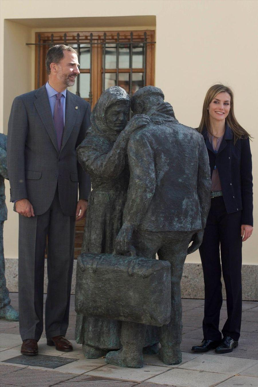 Letizia et Felipe couronnent le plus beau des villages