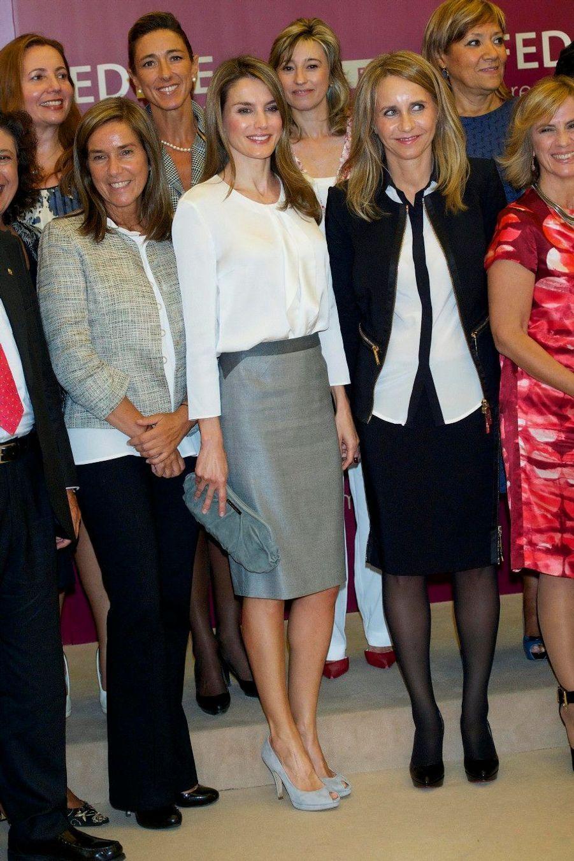 Letizia, jolie patronne des patronnes