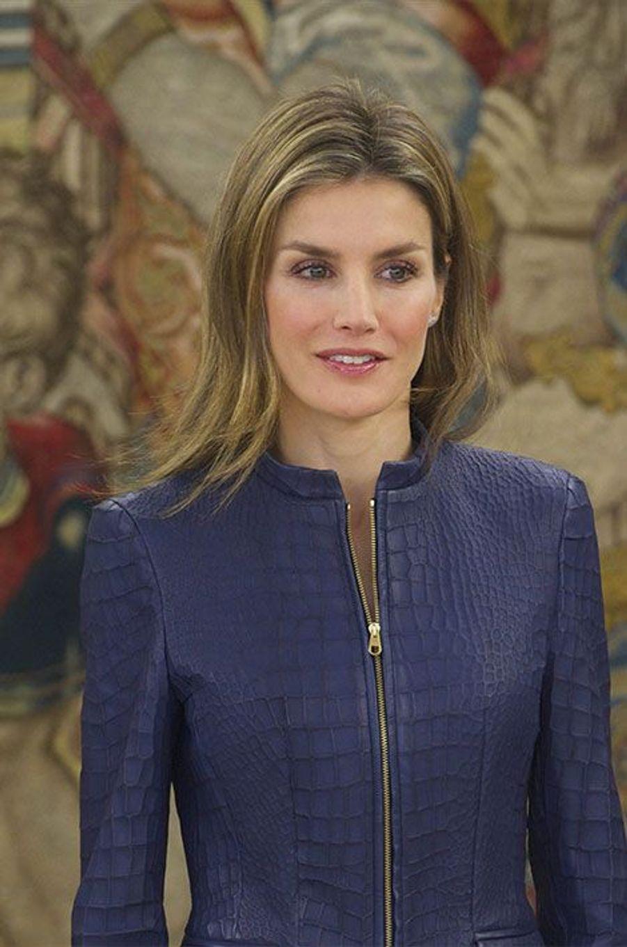 """Letizia, princesse en """"Vogue"""""""