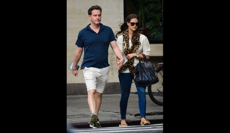 Madeleine et Chris, incognitos à New York