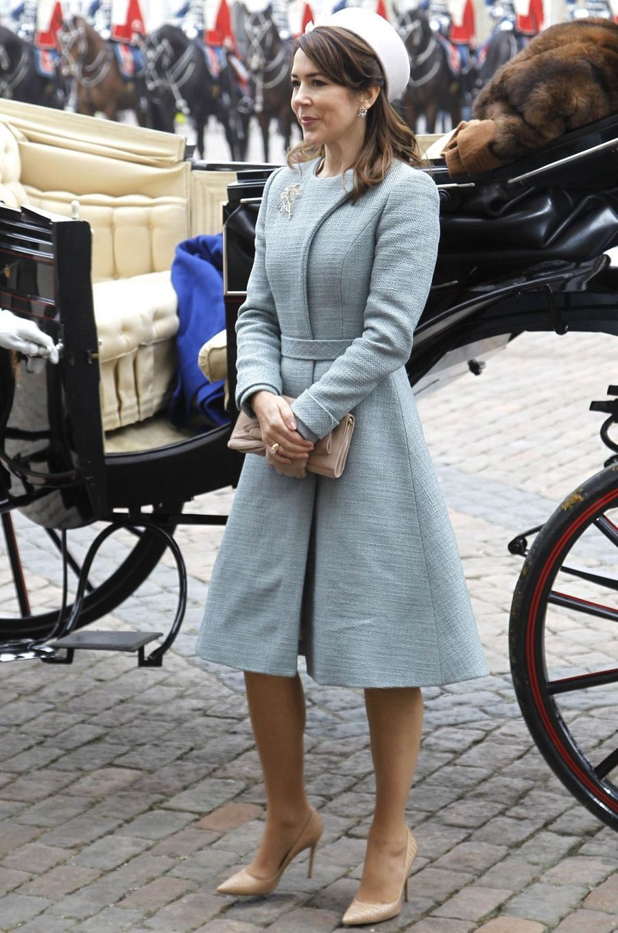 La princesse Mary de Danemark à Copenhague, le 28 mars 2017