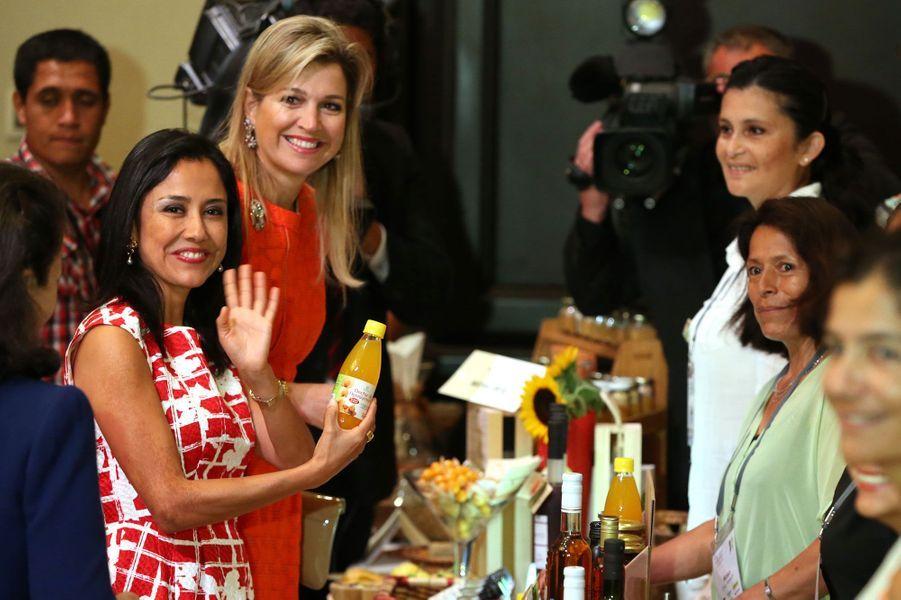 Maxima et Nadine Heredia à la rencontre des dirigeantes d'entreprise