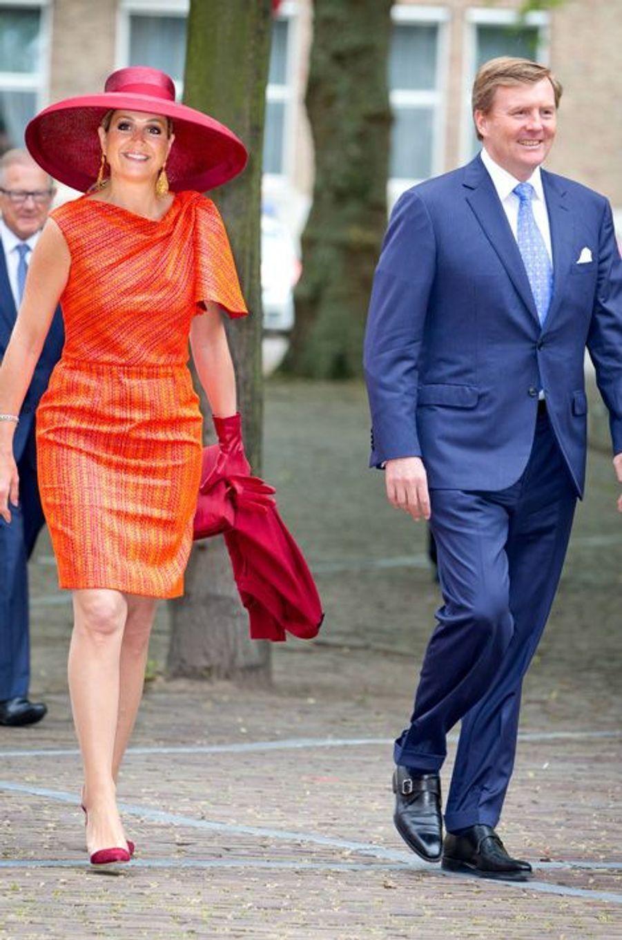 La Reine Maxima et le Roi Willem-Alexander