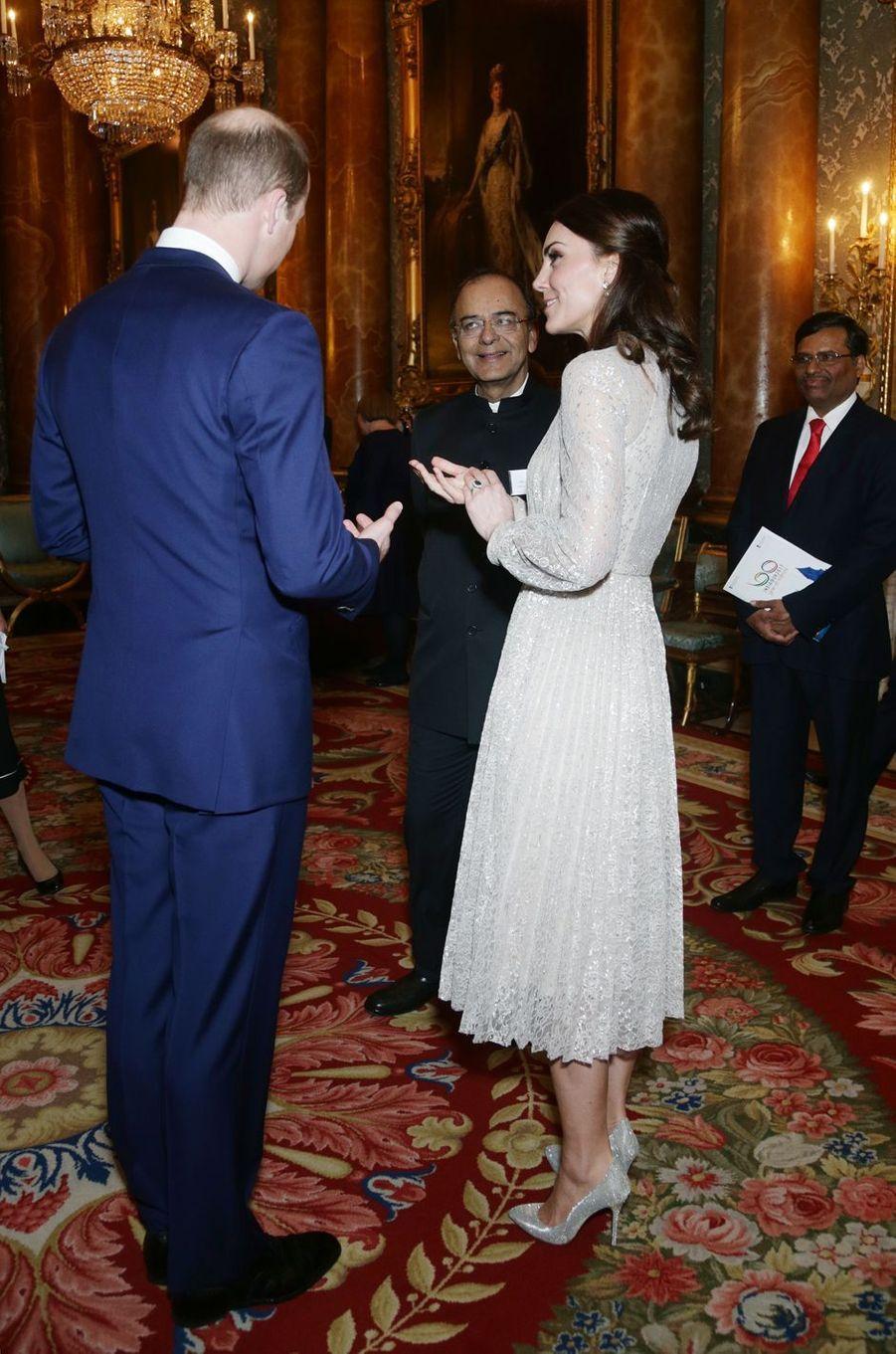 La duchesse de Cambridge à Londres le 27 février 2017