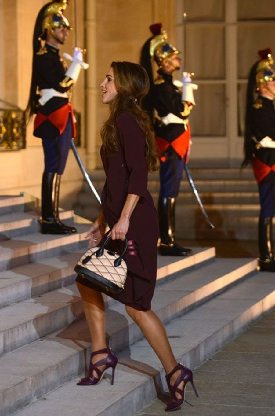 Rania de Jordanie, une reine à l'Elysée