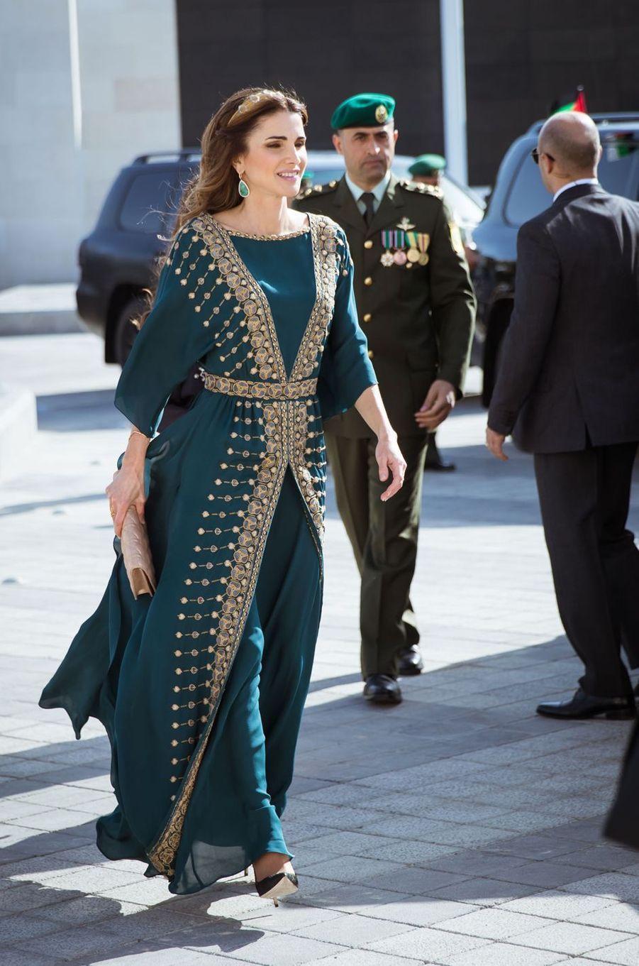 La reine Rania de Jordanie à Amman, le 2 juin 2016