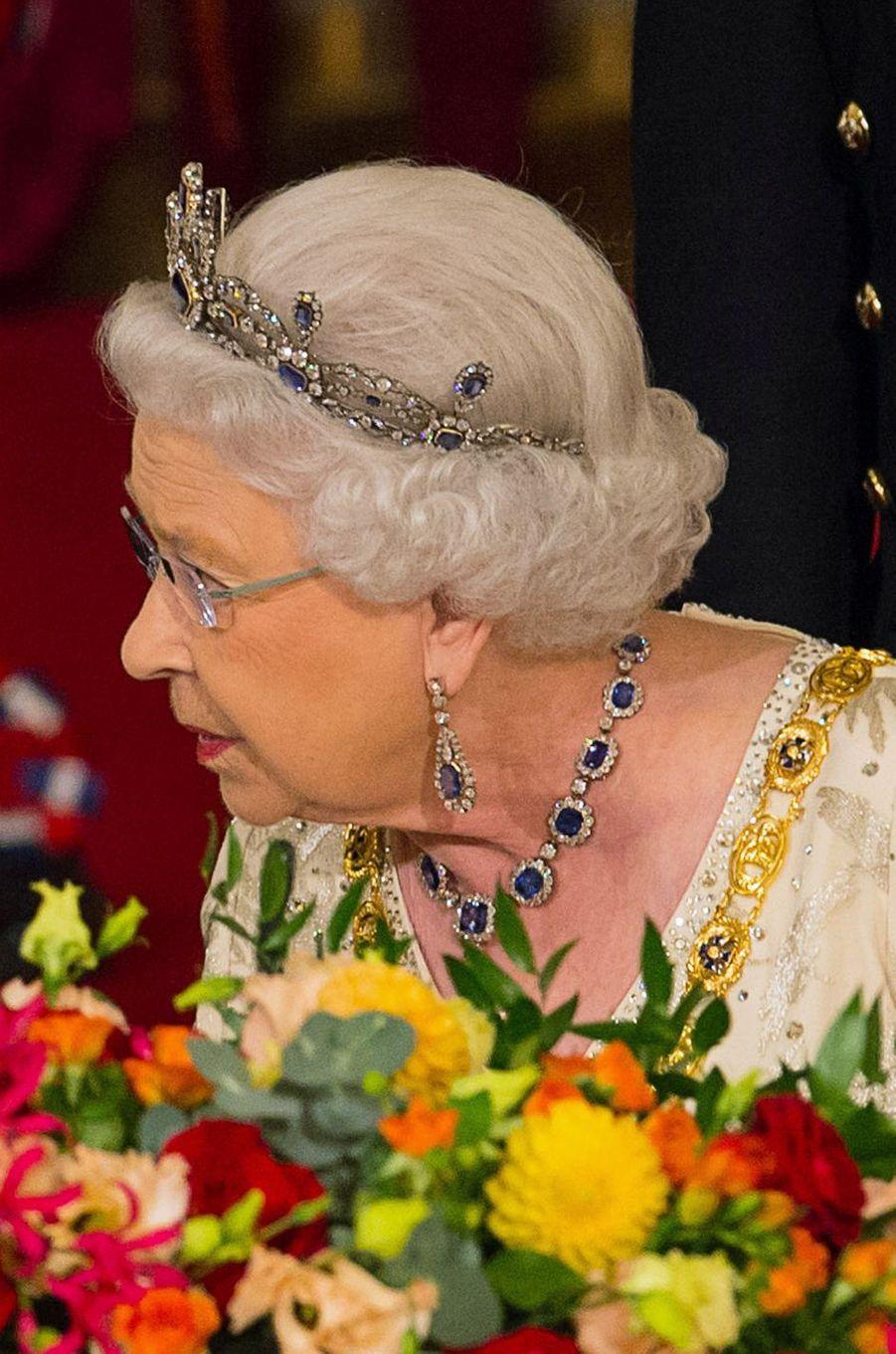 La reine Elizabeth II, le 1er novembre 2016