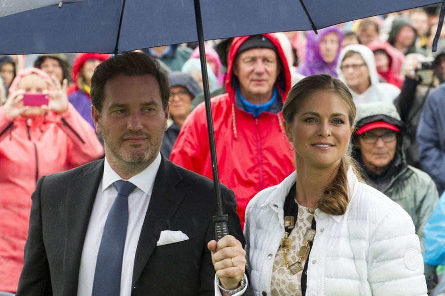La Princesse Madeleine et son mari Chris O'Neil