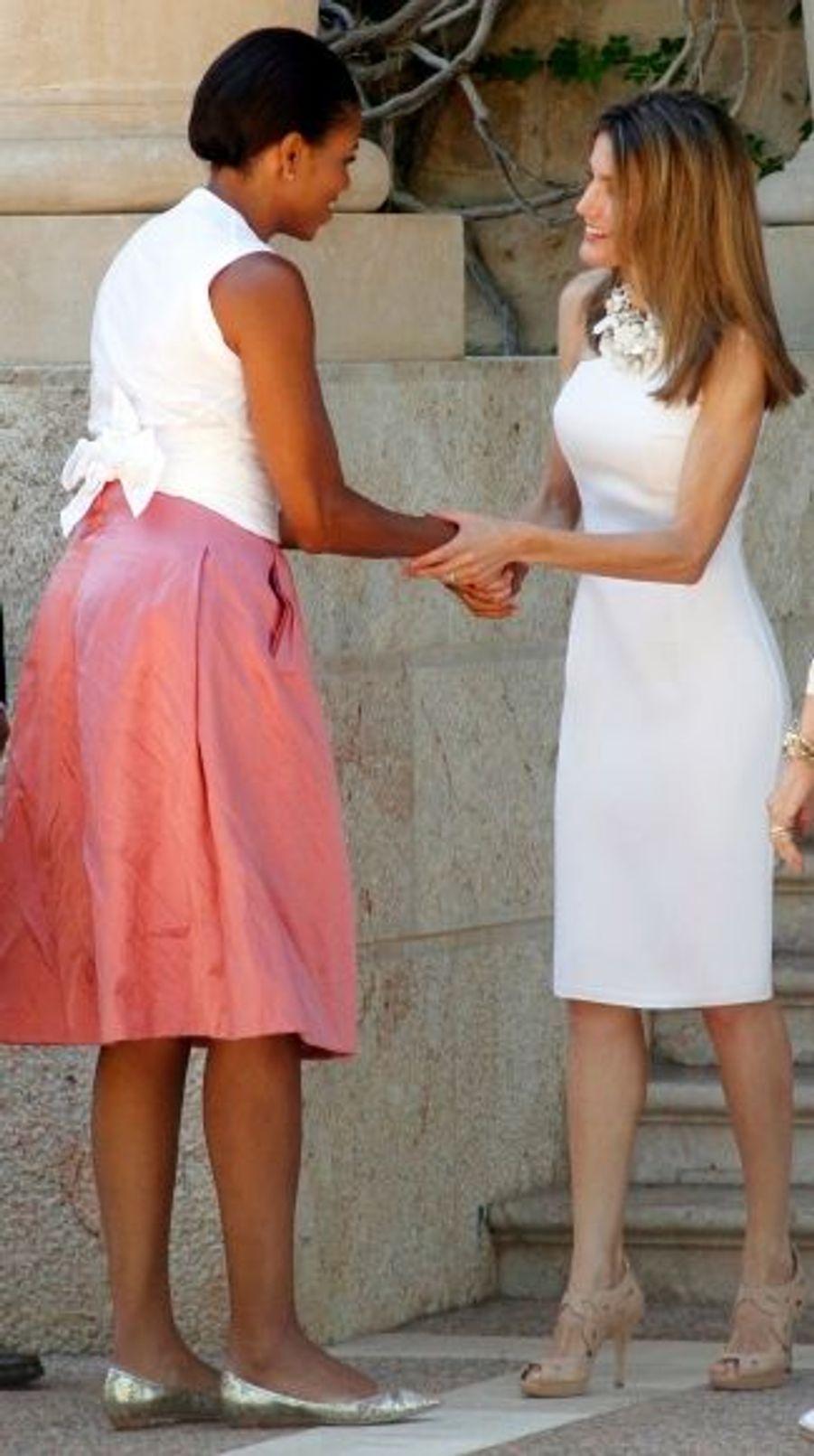 Michelle et Letizia