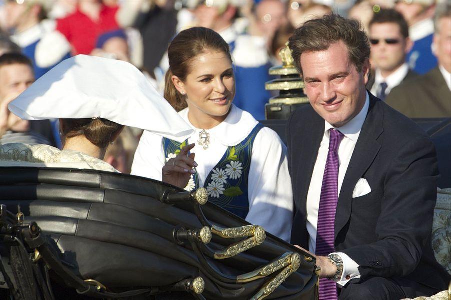 La princesse Madeleine et Chris O'Neill