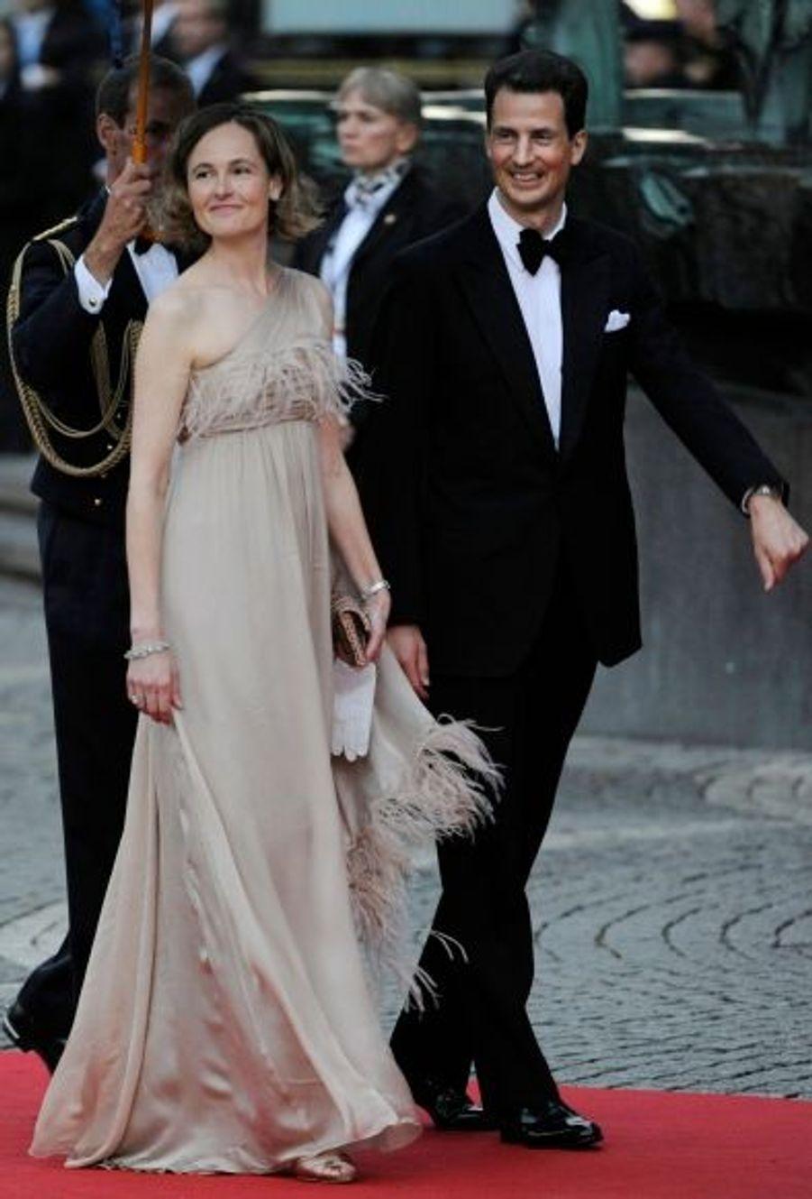 Le Prince Alois et la Princesse Sophie du Liechtenstein