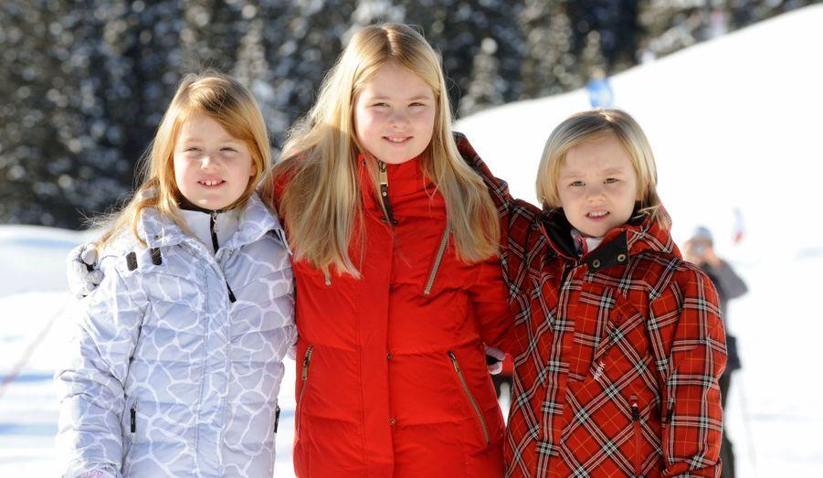 Les trois petites princesses :  Amalia, Alexia et Ariane