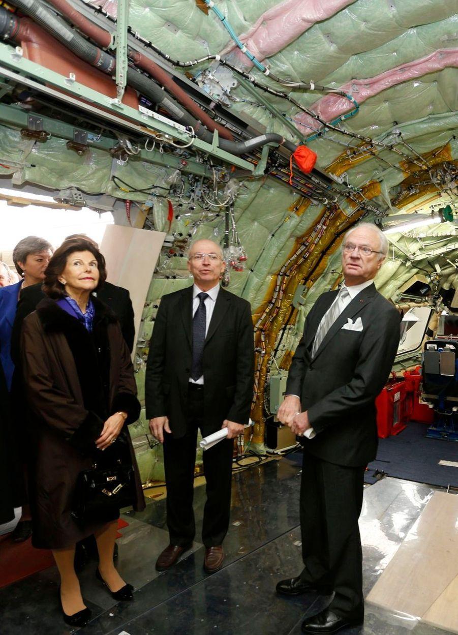 Carl XVI Gustaf a retrouvé Silvia à Toulouse