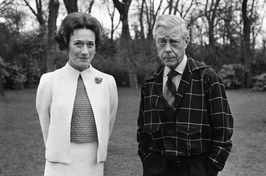Wallis Simpson et l'ex-roi Edward VIII d'Angleterre, le 26 février 1964