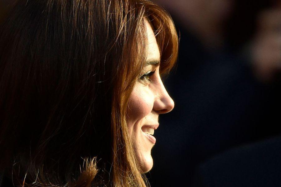 La duchesse de Cambridge Kate à Londres, le 9 décembre 2015