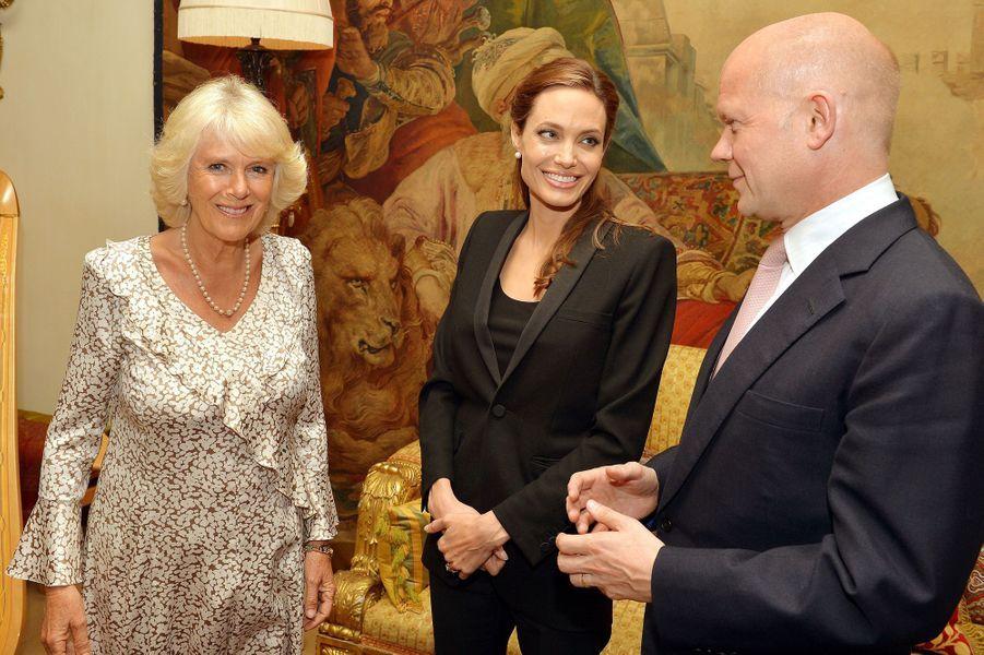 Camilla et Angelina Jolie, les dames de coeur