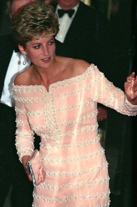 Lady Diana au théâtre Savoy à Londres le 19 juillet 1993