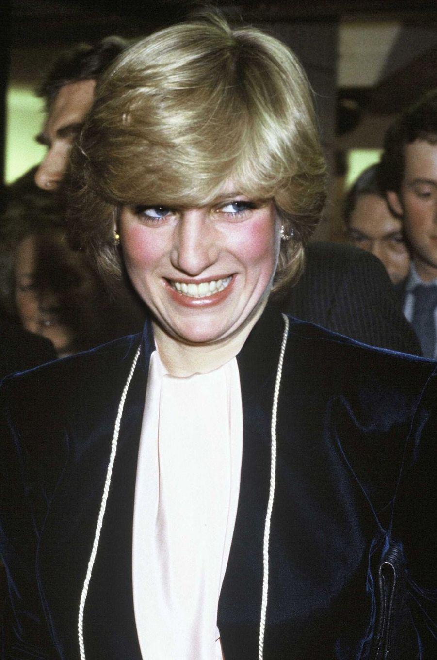 Lady Diana le 12 novembre 1981