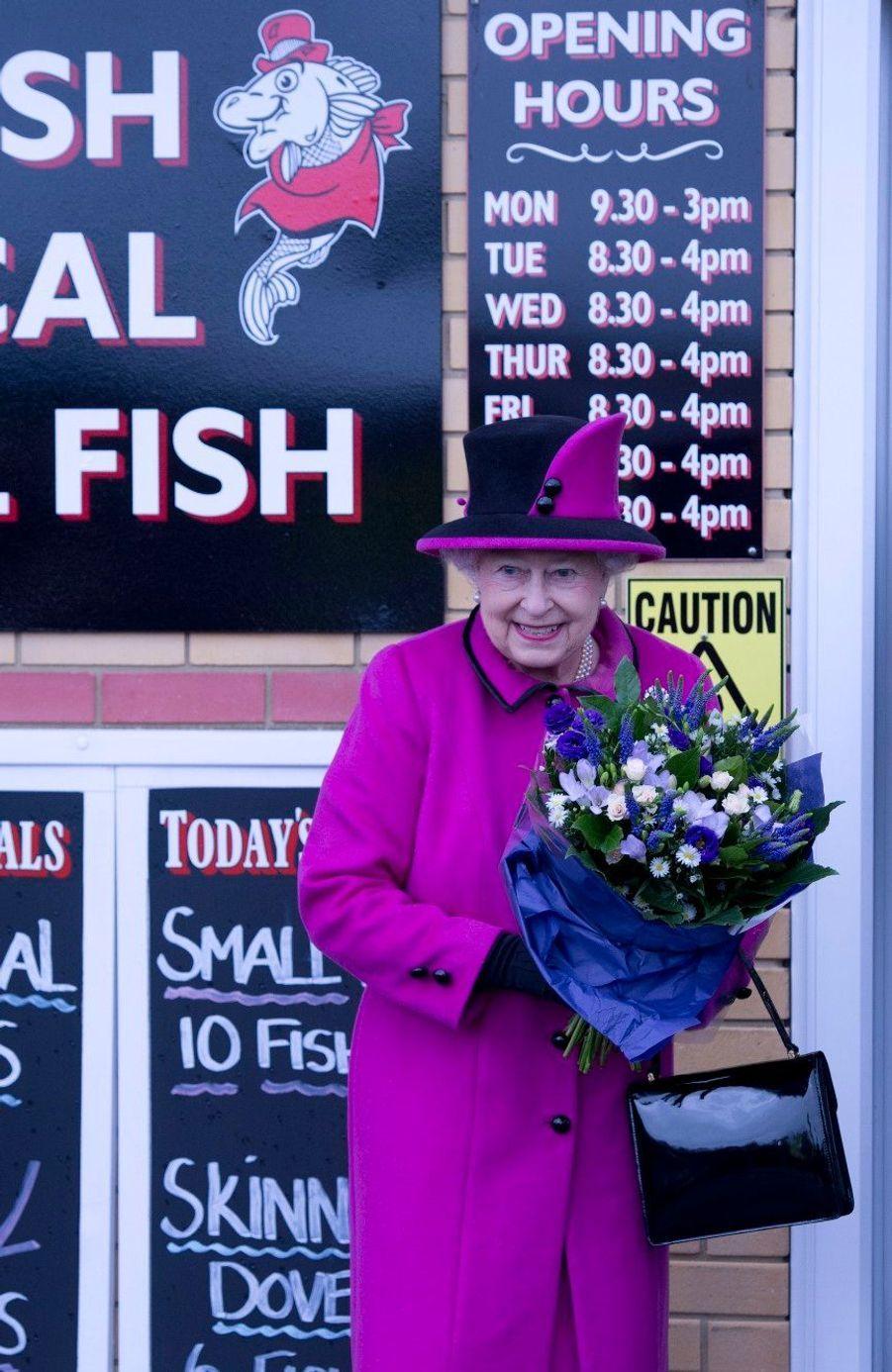Elizabeth, Philip et les bons produits du Sussex