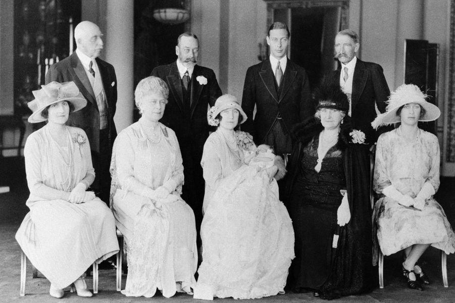 Baptême de la princesse Elizabeth (future reine Elizabeth II), le 29 mai 1926