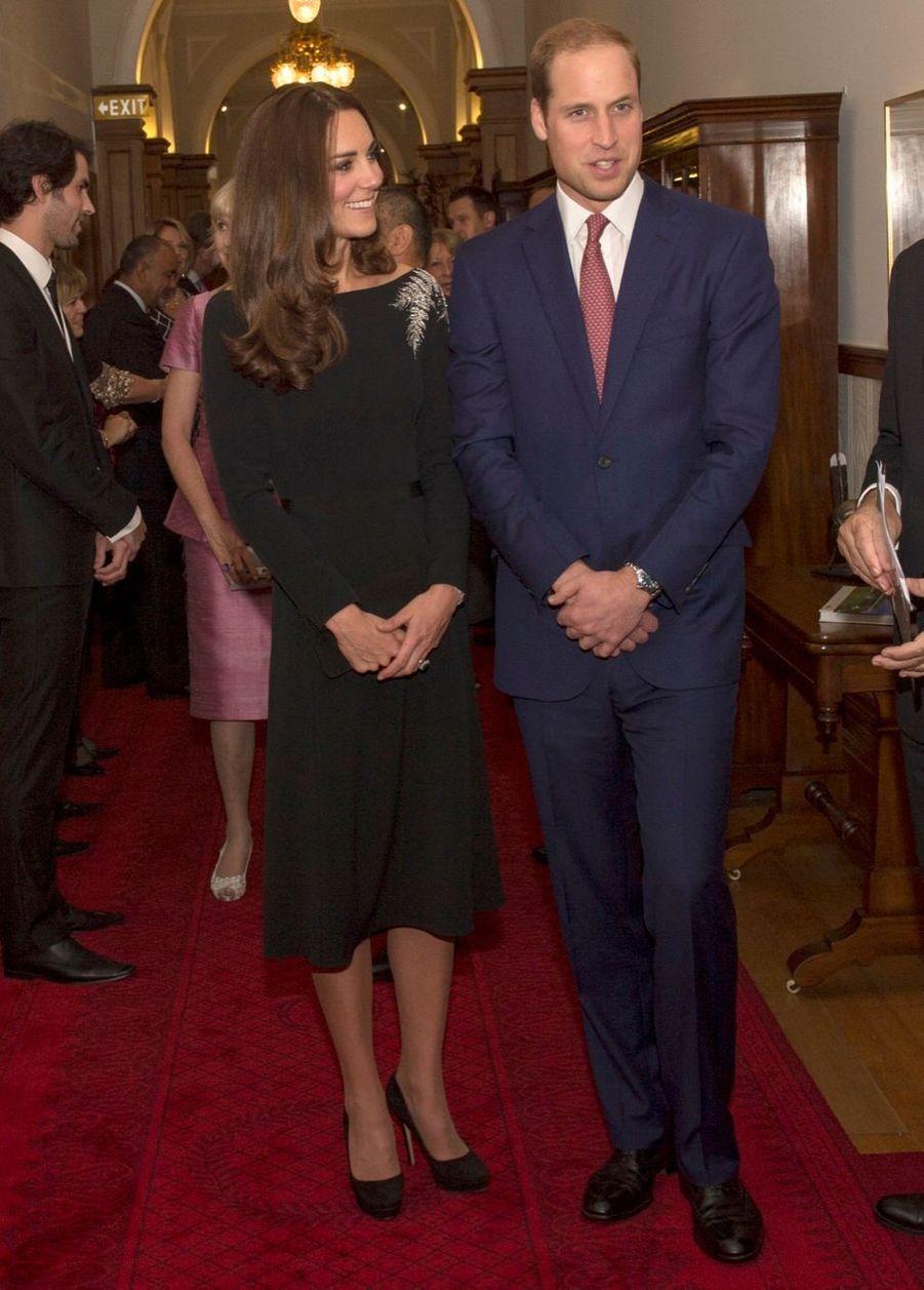 William et Kate retrouvent la reine