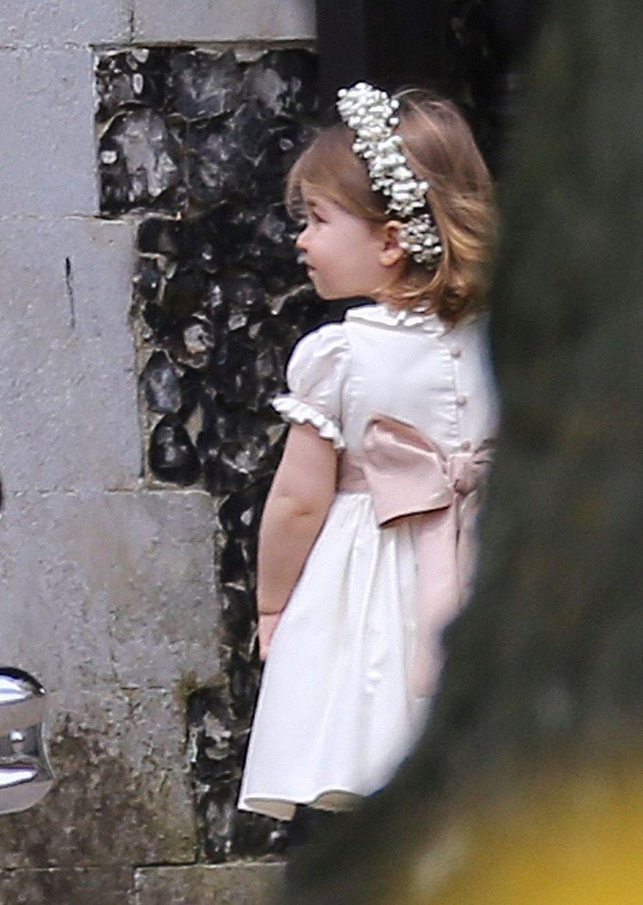 Le Prince George Et La Princesse Charlotte Arrivent À L'église Pour Le Mariage De Pippa Middleton 1