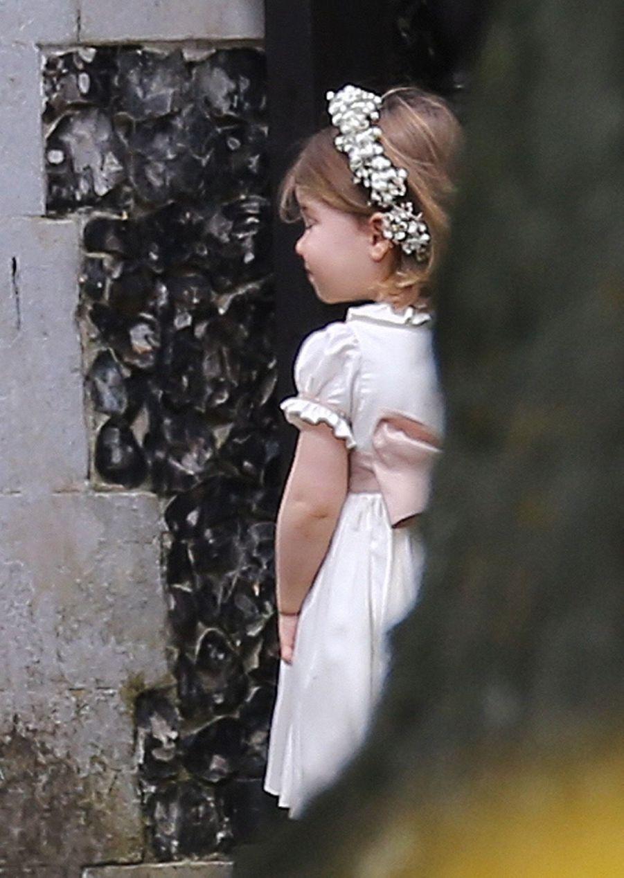 Le Prince George Et La Princesse Charlotte Arrivent À L'église Pour Le Mariage De Pippa Middleton 2