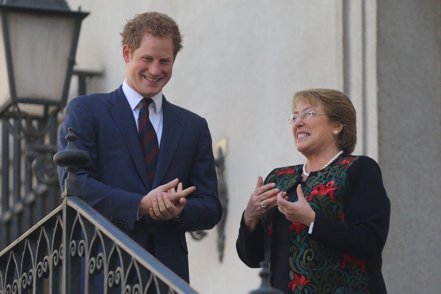 Harry, un prince charmeur au Chili