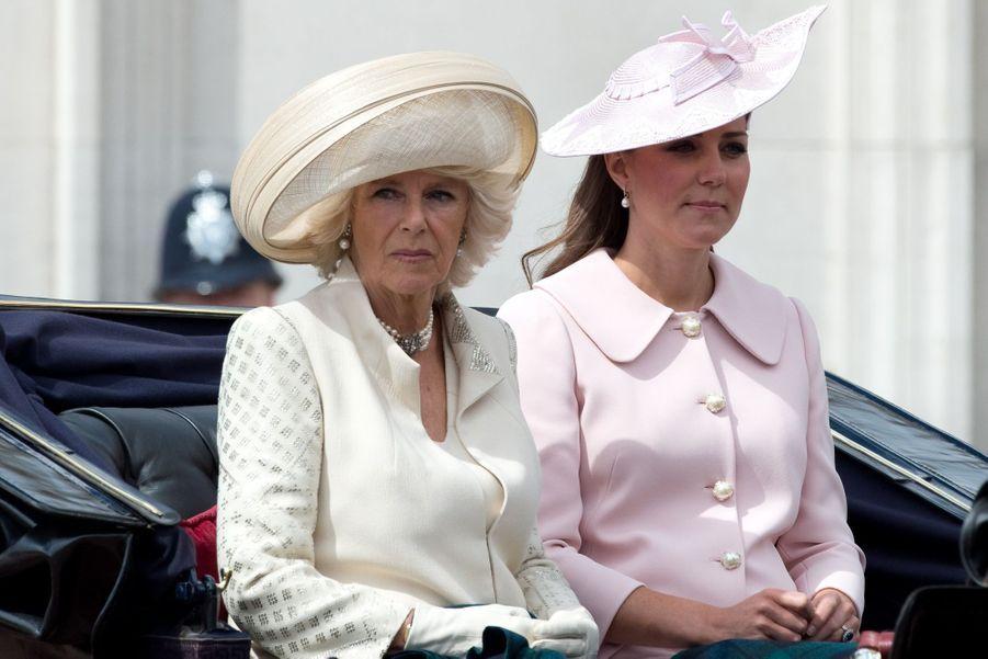 Camilla et Kate