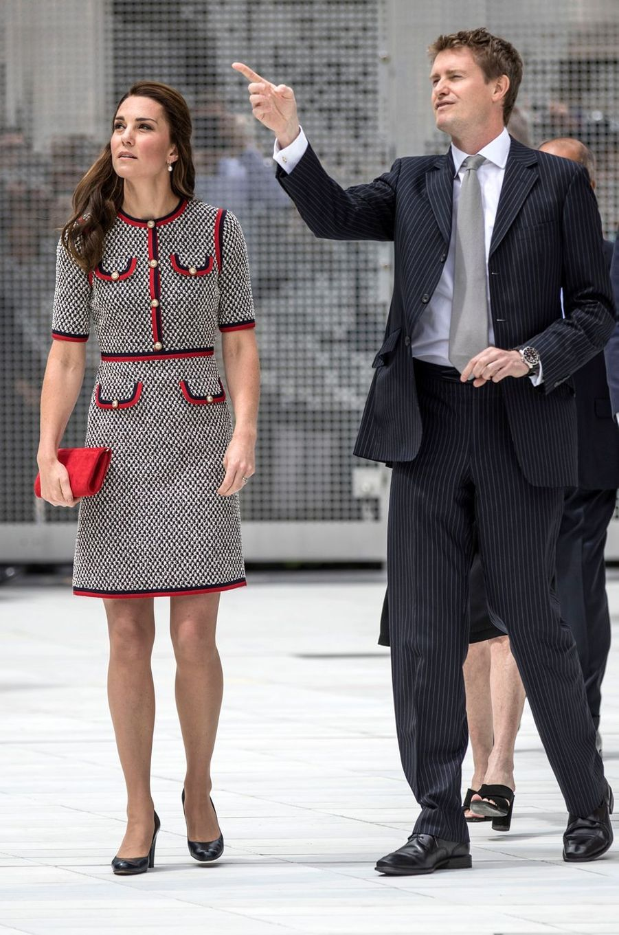 Kate Middleton à Londres, le 29 juin 2017