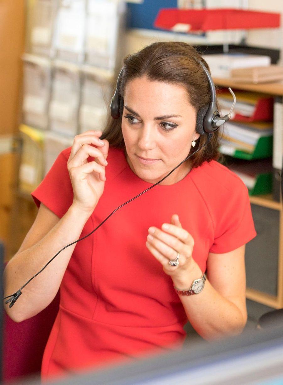Kate à l'écoute des enfants malades