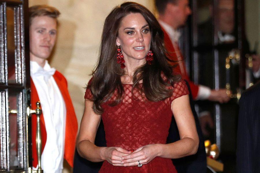 Kate Middleton à Londres le 4 avril 2017
