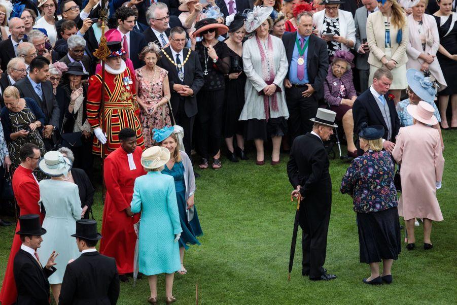 La Garden Party De Buckingham Palace 4
